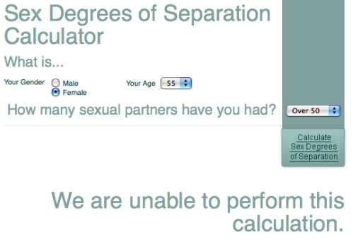 Lloyds Pharmacy - Sex Degrees of Separation Calculator_1254086769278