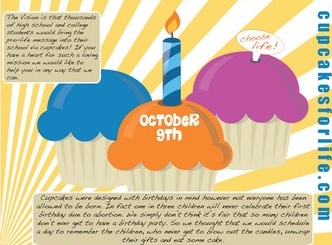 National Pro-Life Cupcake Day - National pro-life cupcake day - Jezebel_1255272269451