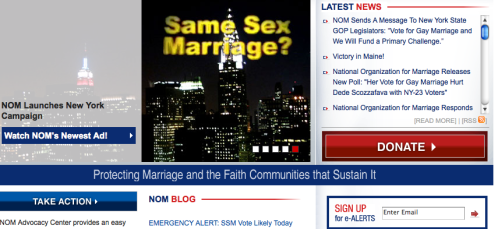 Home - National Organization for Marriage_1258233572754